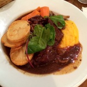 Beef Bourgignon from Les Philosophes Bistro.